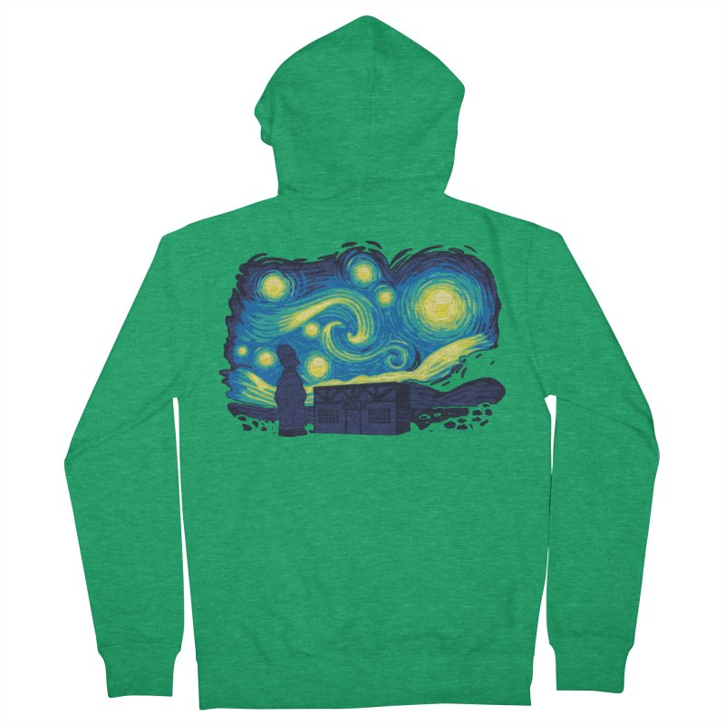 Starry Blur Men's Zip-Up Hoody by Daletheskater