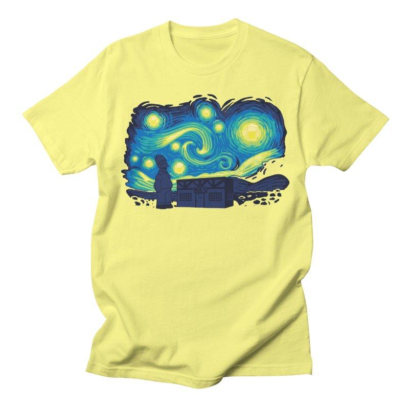 Starry Blur Men's T-Shirt by Daletheskater