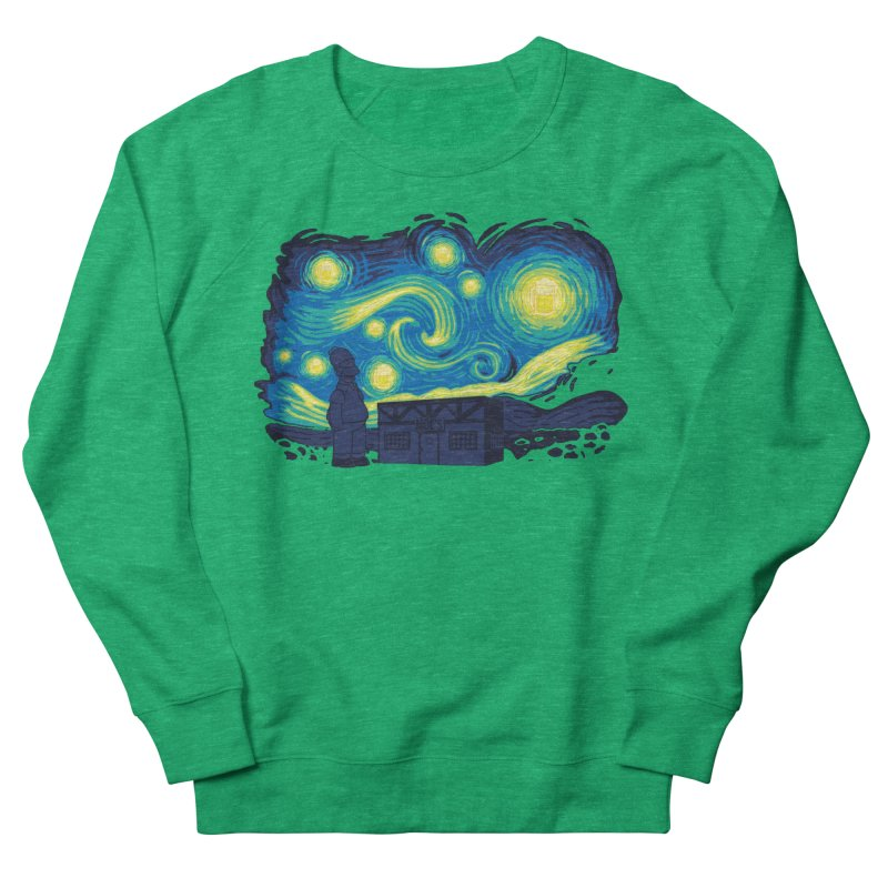 Starry Blur Men's Sweatshirt by Daletheskater