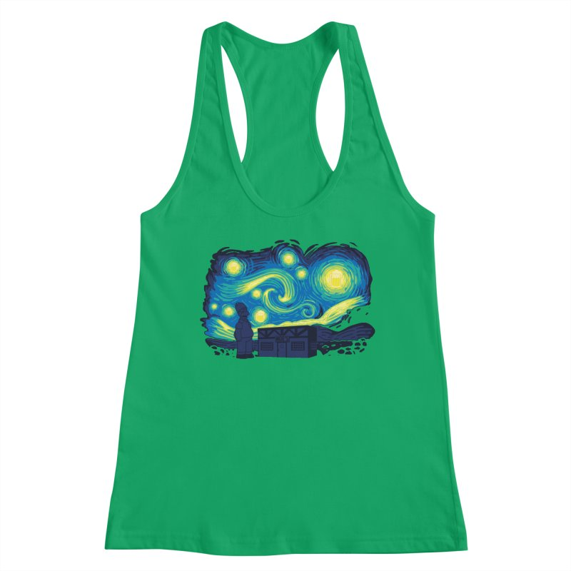 Starry Blur Women's Tank by Daletheskater