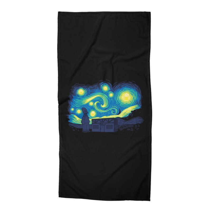Starry Blur Accessories Beach Towel by Daletheskater