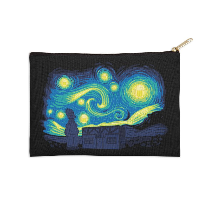Starry Blur Accessories Zip Pouch by Daletheskater