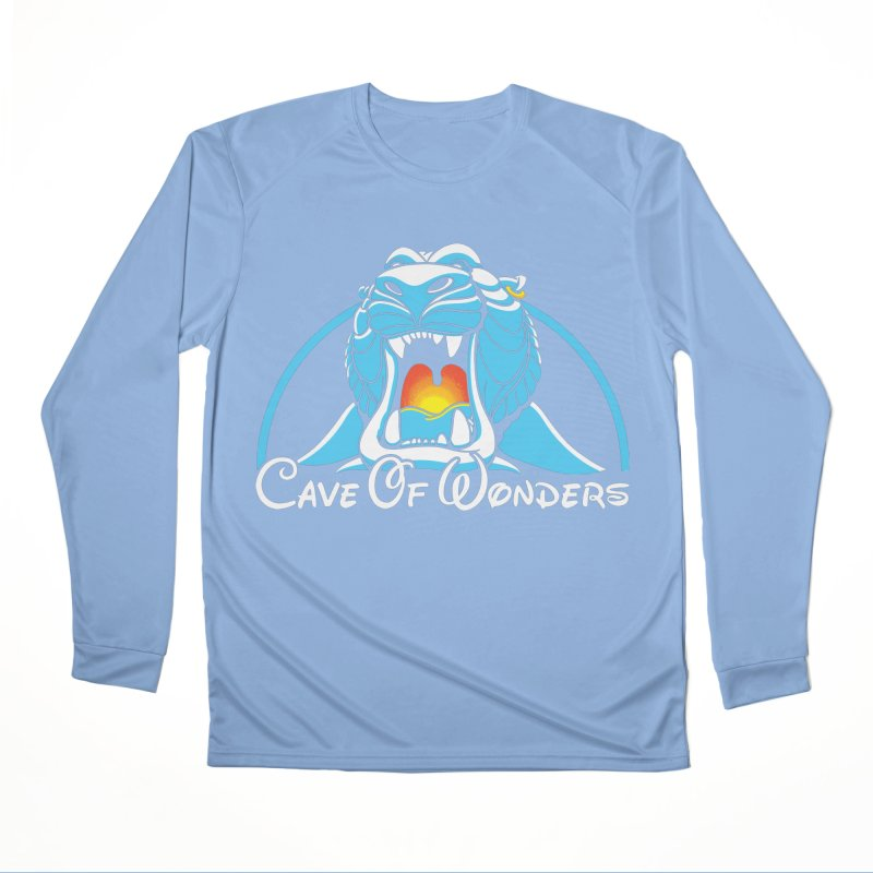Cave Of Wonders Women's Longsleeve T-Shirt by Daletheskater