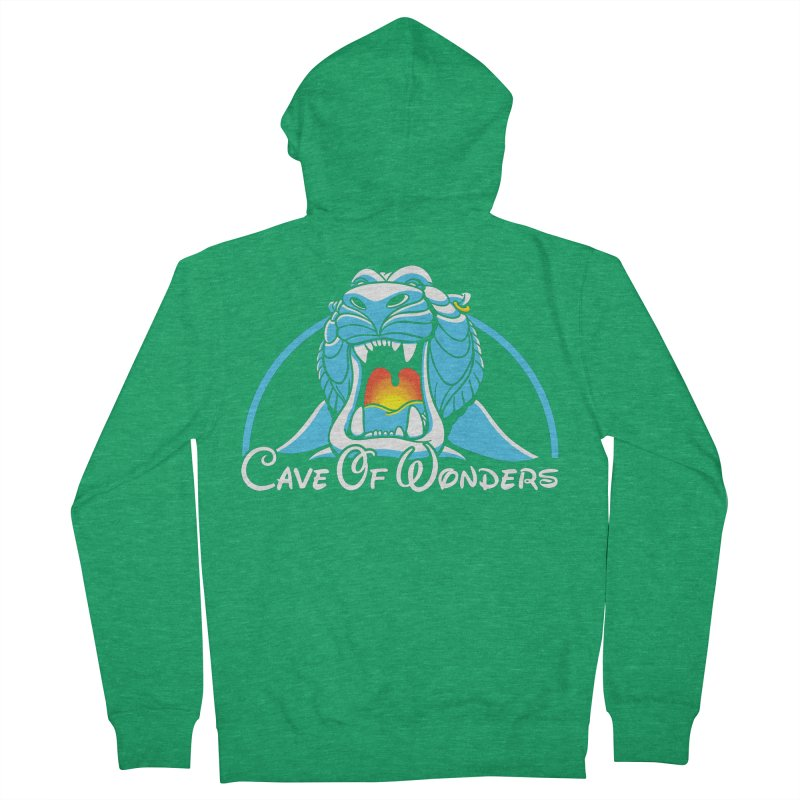 Cave Of Wonders Women's Zip-Up Hoody by Daletheskater