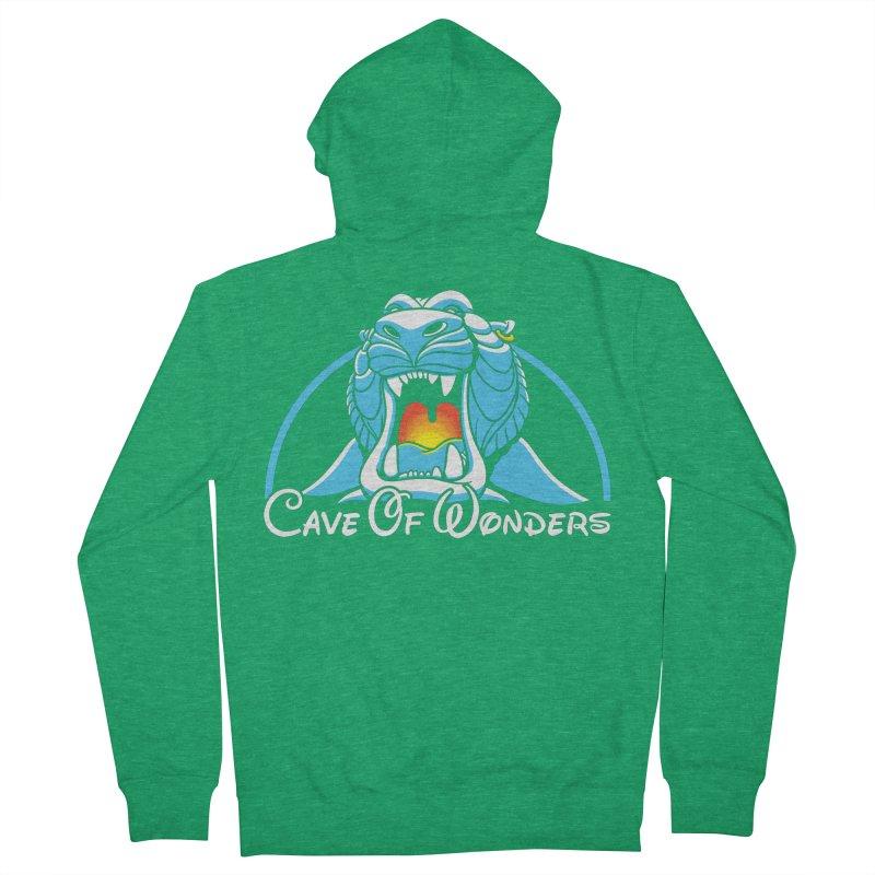 Cave Of Wonders Men's Zip-Up Hoody by Daletheskater