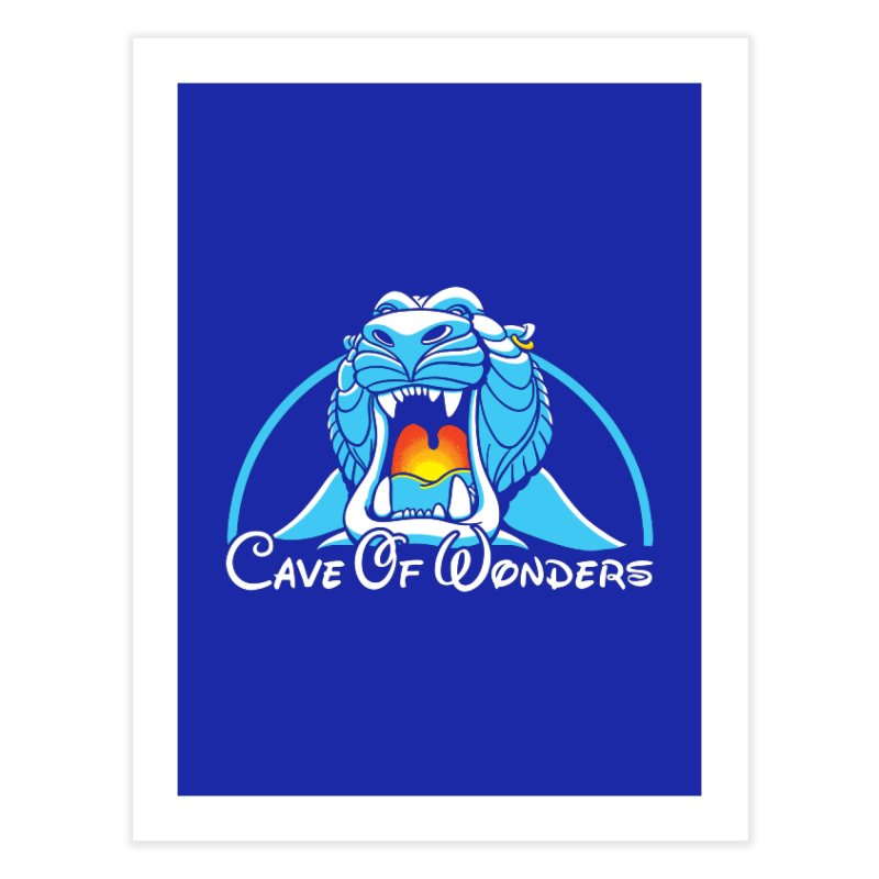 Cave Of Wonders Home Fine Art Print by Daletheskater