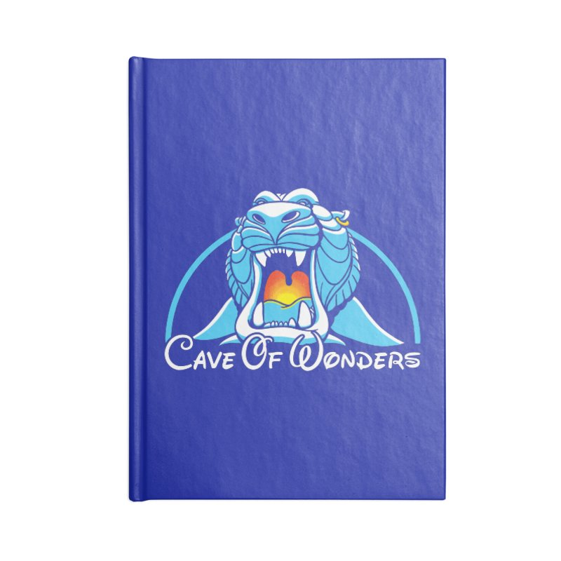 Cave Of Wonders Accessories Notebook by Daletheskater