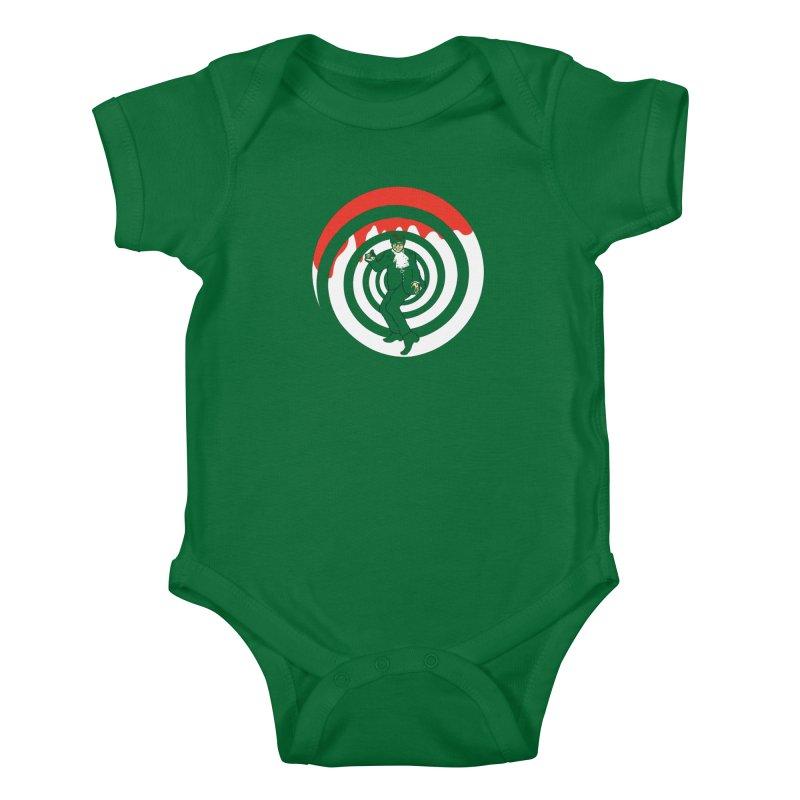 Dangerous Powers Kids Baby Bodysuit by Daletheskater