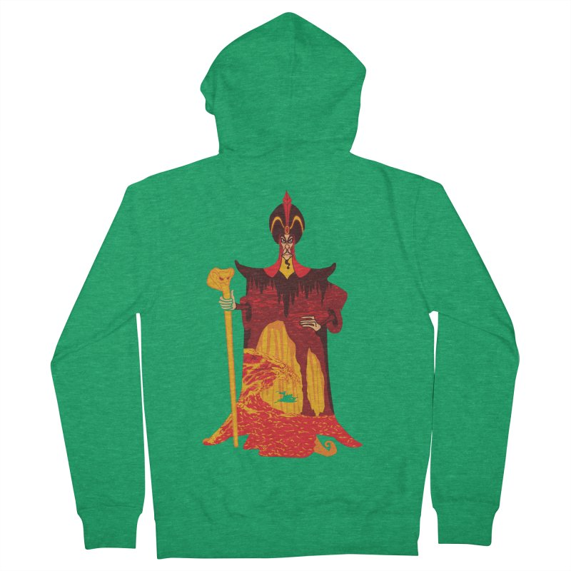 Wicked Wizar Men's Zip-Up Hoody by Daletheskater