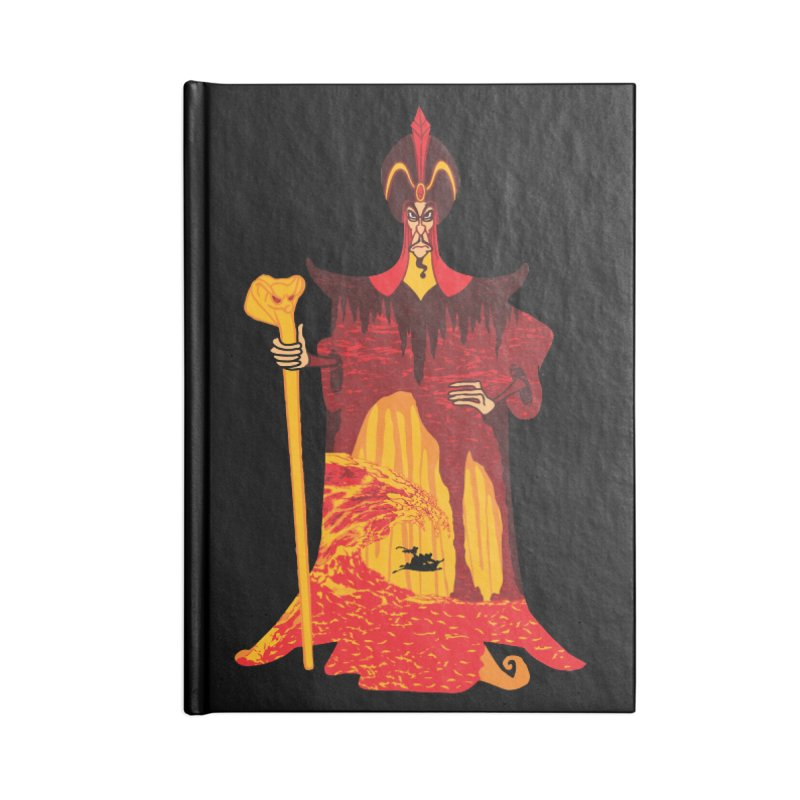 Wicked Wizar Accessories Notebook by Daletheskater