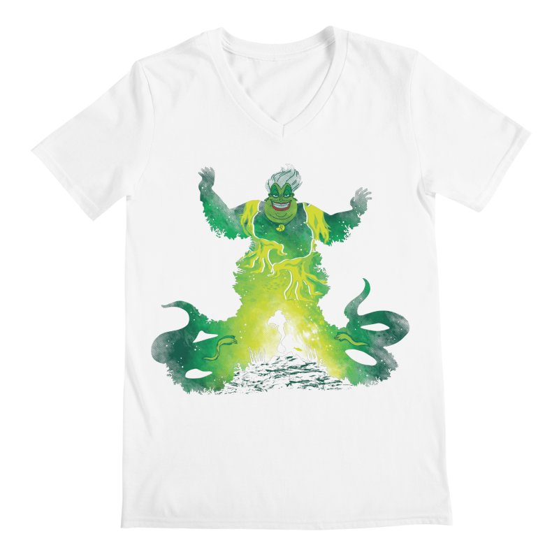 Villainous Spell Men's V-Neck by Daletheskater