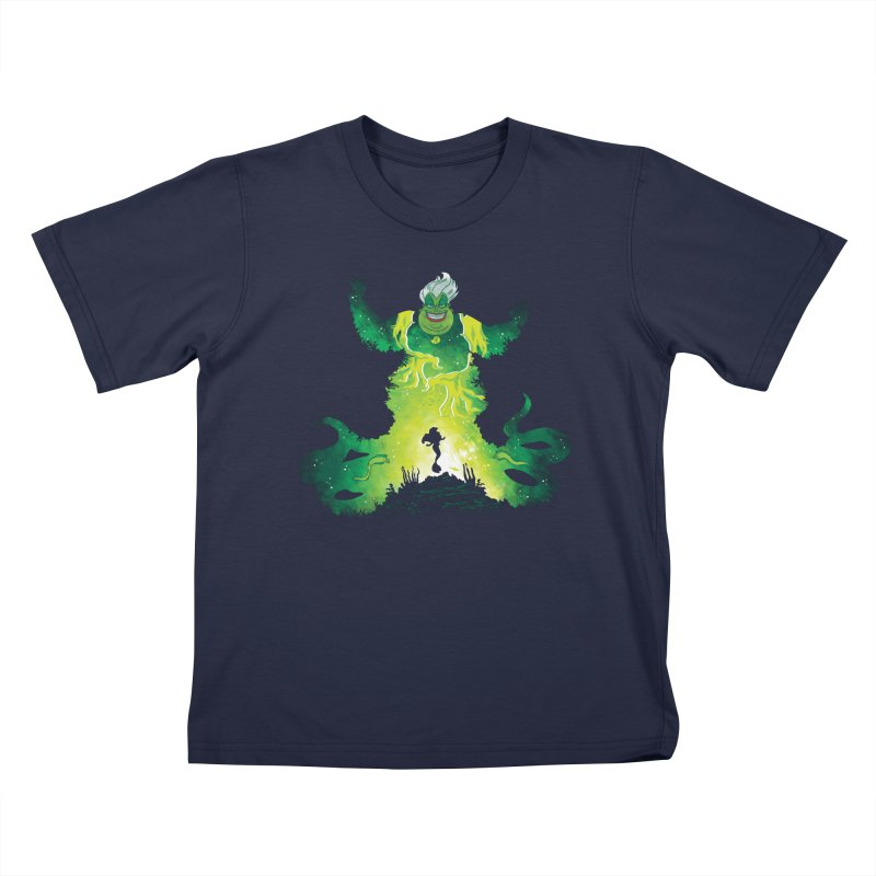 Villainous Spell Kids T-Shirt by Daletheskater