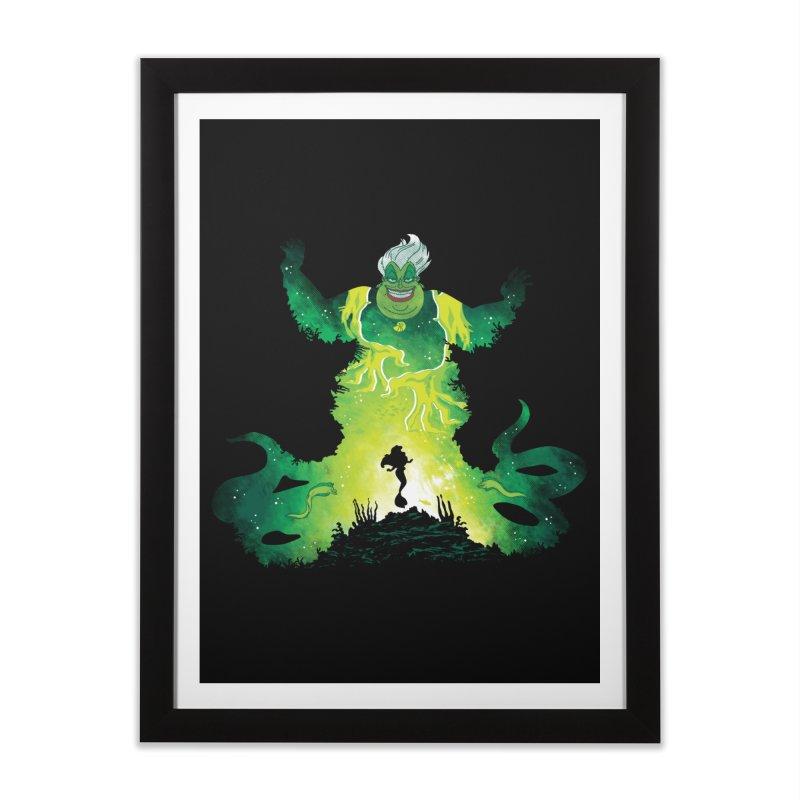 Villainous Spell Home Framed Fine Art Print by Daletheskater