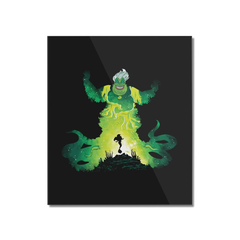 Villainous Spell Home Mounted Acrylic Print by Daletheskater
