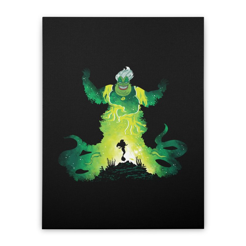 Villainous Spell Home Stretched Canvas by Daletheskater