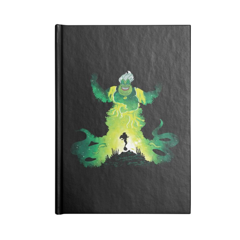 Villainous Spell Accessories Notebook by Daletheskater