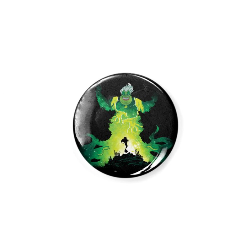 Villainous Spell Accessories Button by Daletheskater