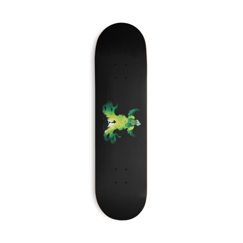 Villainous Spell Accessories Skateboard by Daletheskater