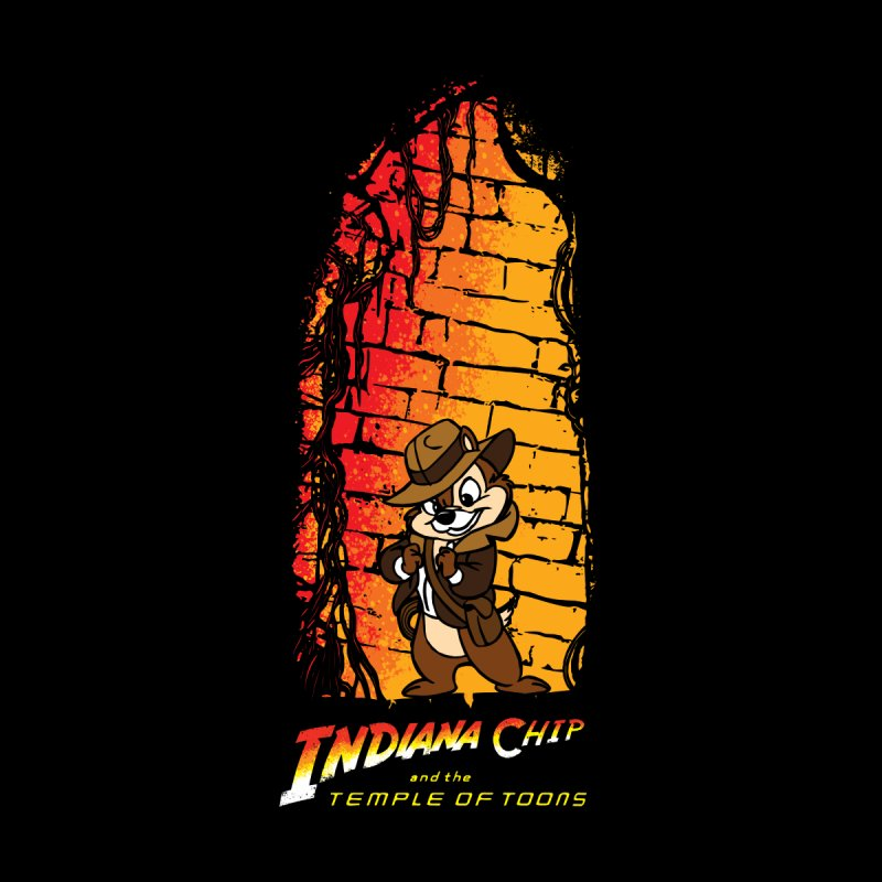 Temple Of Toons Men's T-Shirt by Daletheskater