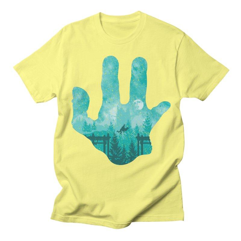 Abe's Adventure Men's T-shirt by Daletheskater
