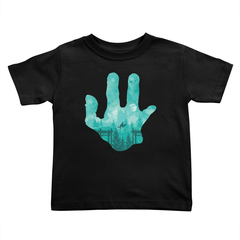 Abe's Adventure Kids Toddler T-Shirt by Daletheskater
