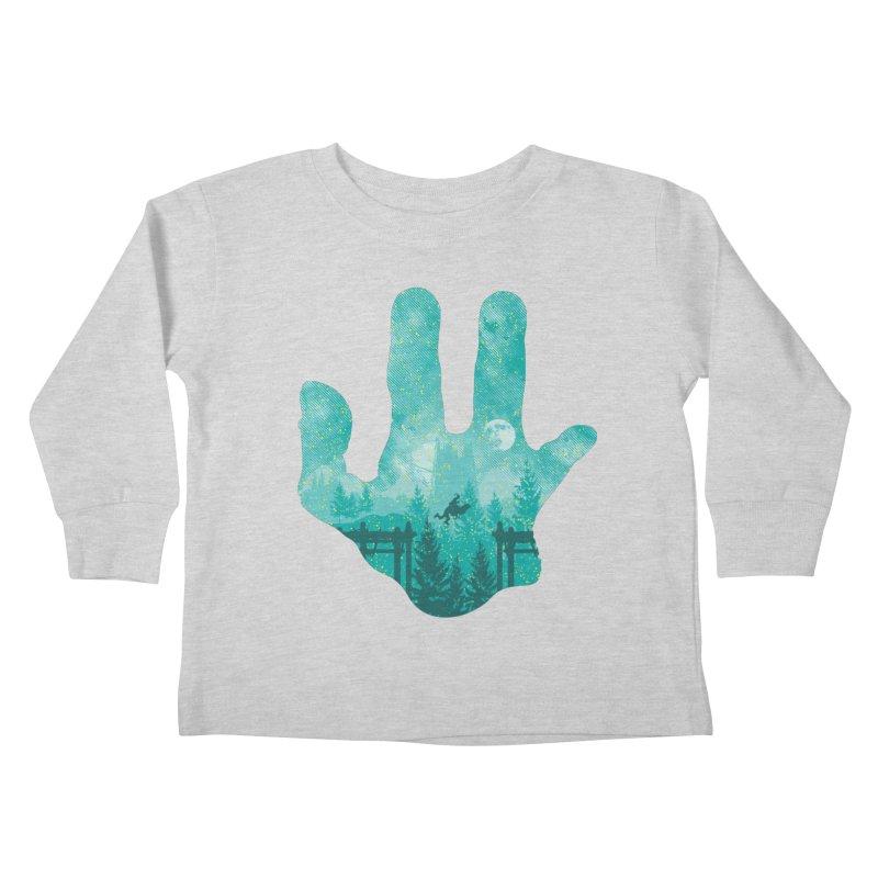 Abe's Adventure Kids Toddler Longsleeve T-Shirt by Daletheskater