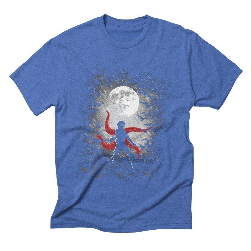 Darkest Hour Men's Triblend T-shirt by Daletheskater