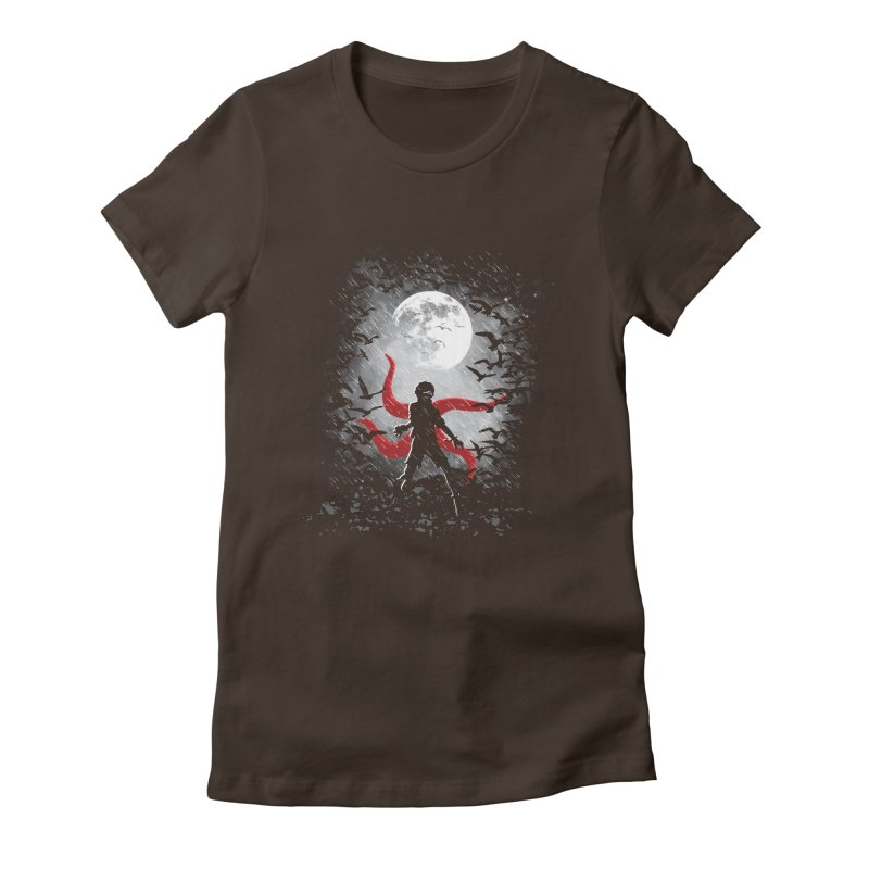 Darkest Hour Women's Fitted T-Shirt by Daletheskater