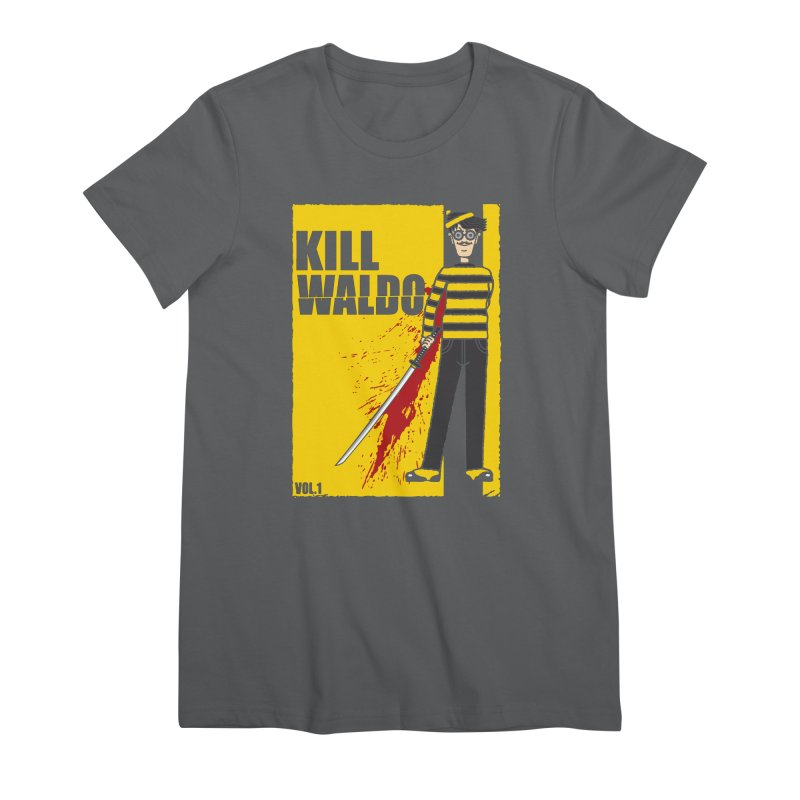 Kill Waldo Women's T-Shirt by Daletheskater