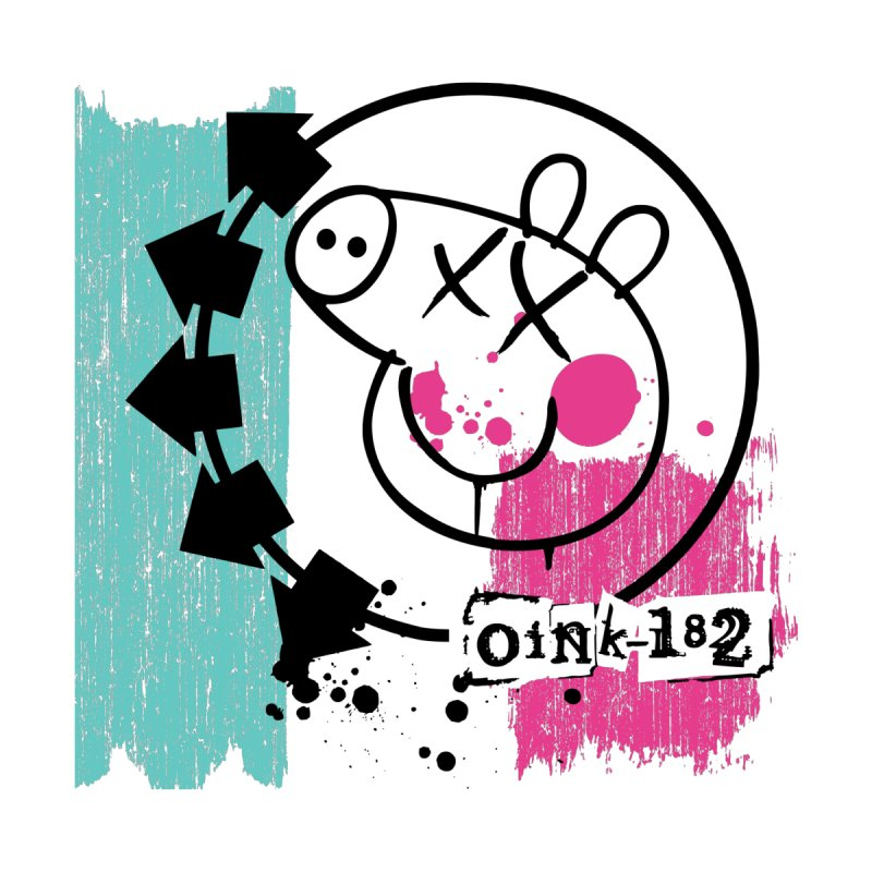Oink 182 Women's T-Shirt by Daletheskater