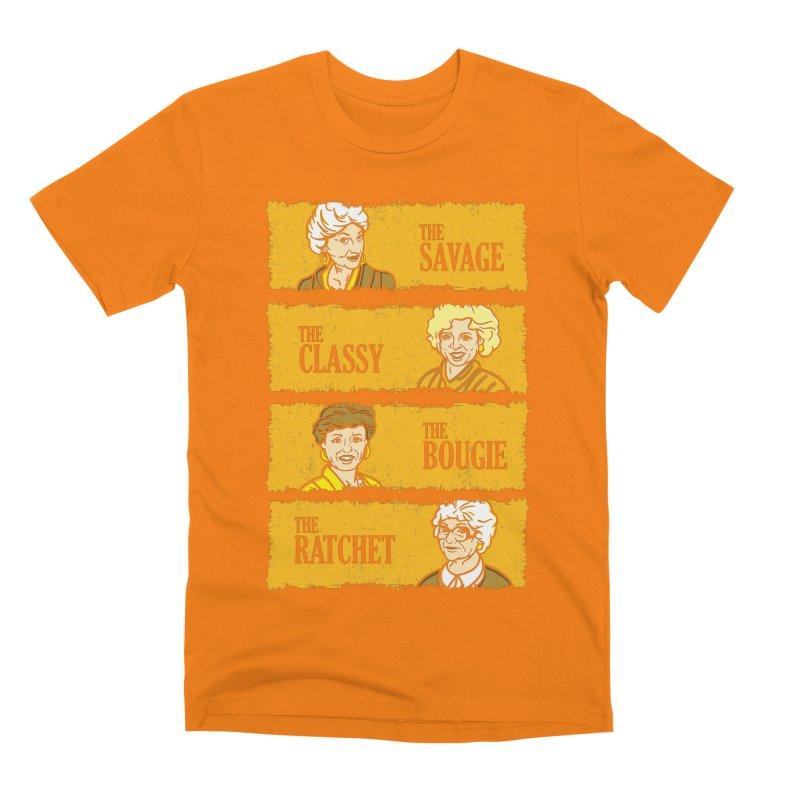 Golden Savages Men's T-Shirt by Daletheskater
