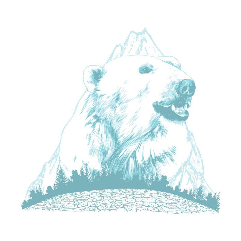Polar Bear Mountain Accessories Sticker by Daletheskater