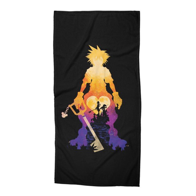 Kingdom Hero Accessories Beach Towel by Daletheskater
