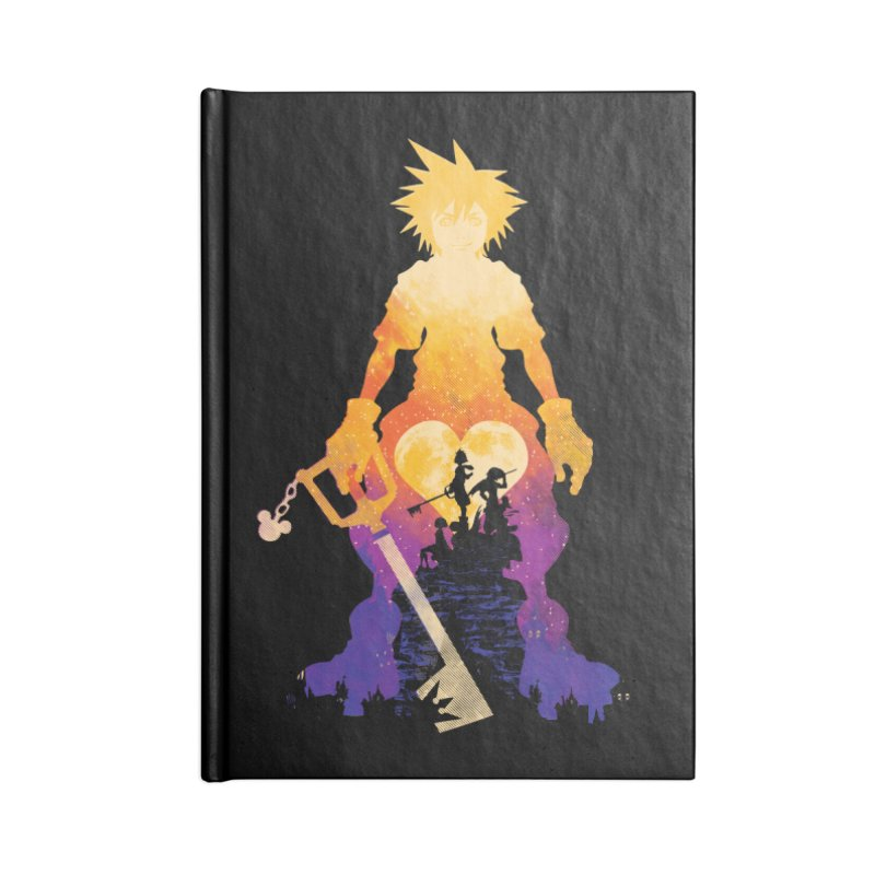 Kingdom Hero Accessories Notebook by Daletheskater
