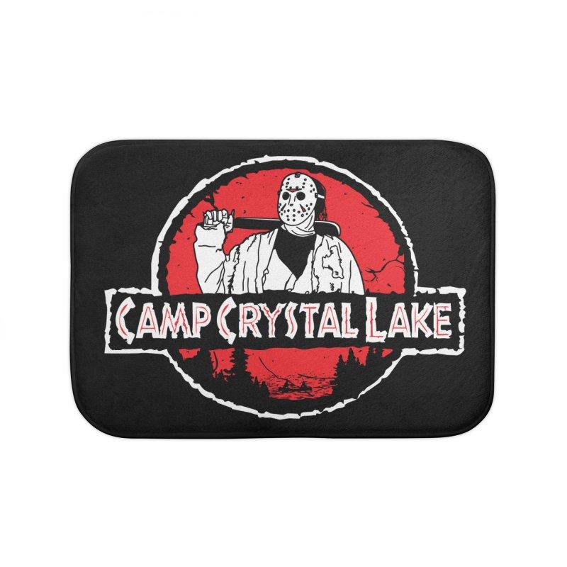 Camp Blood Home Bath Mat by Daletheskater