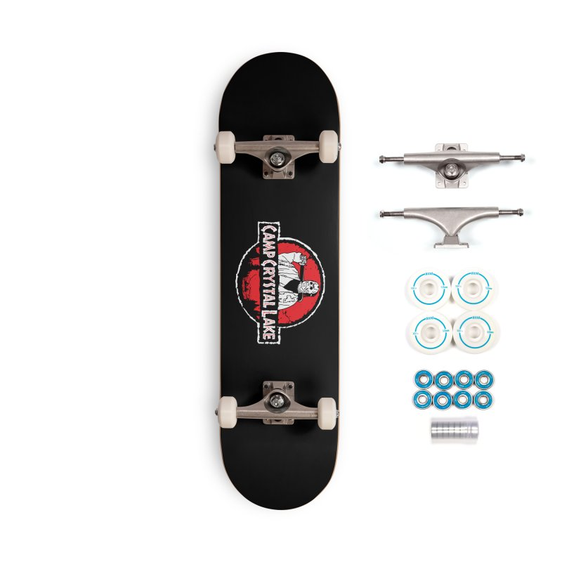 Camp Blood Accessories Skateboard by Daletheskater