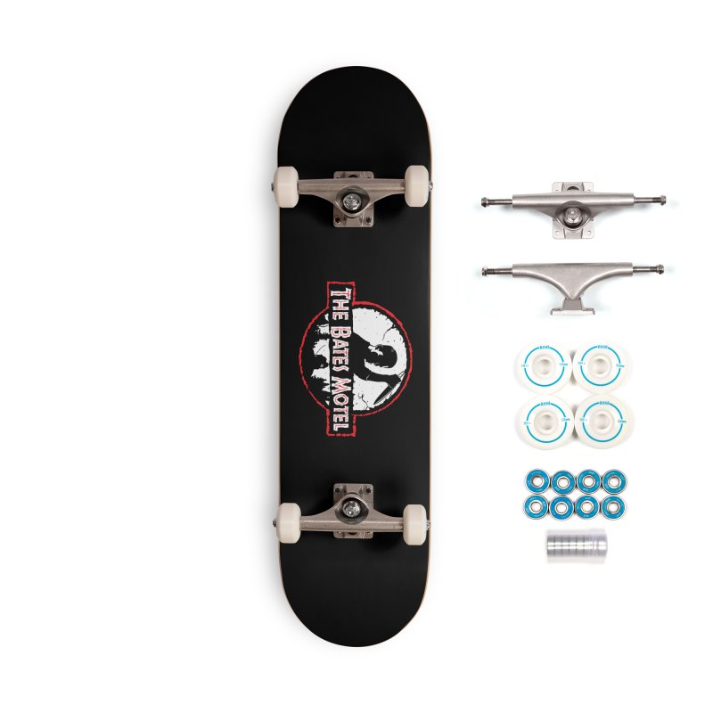 The Bates Motel Accessories Skateboard by Daletheskater