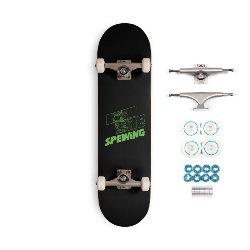 The Spewing Accessories Skateboard by Daletheskater