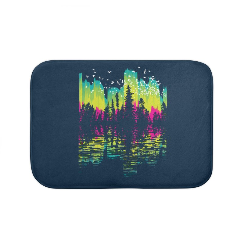 Aurora Migration Home Bath Mat by Daletheskater