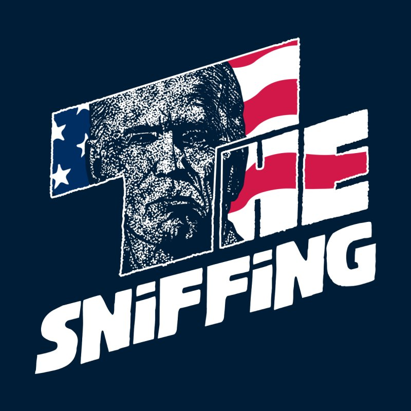 The Sniffing Men's T-Shirt by Daletheskater