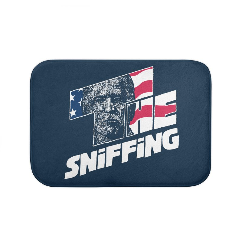 The Sniffing Home Bath Mat by Daletheskater