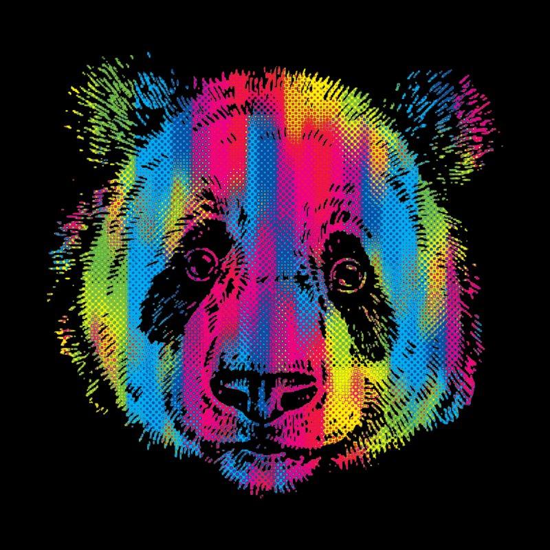 Vibrant Panda Men's Sweatshirt by Daletheskater