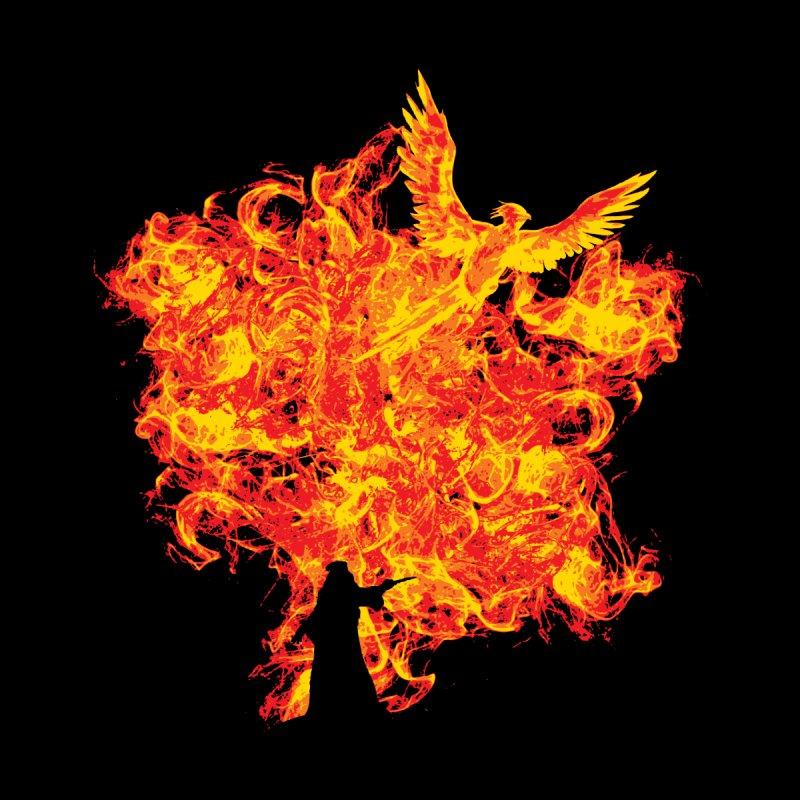 Reborn Phoenix Men's Sweatshirt by Daletheskater