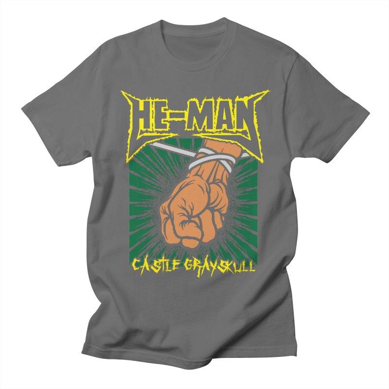 Castle Grayskull Men's T-Shirt by Daletheskater
