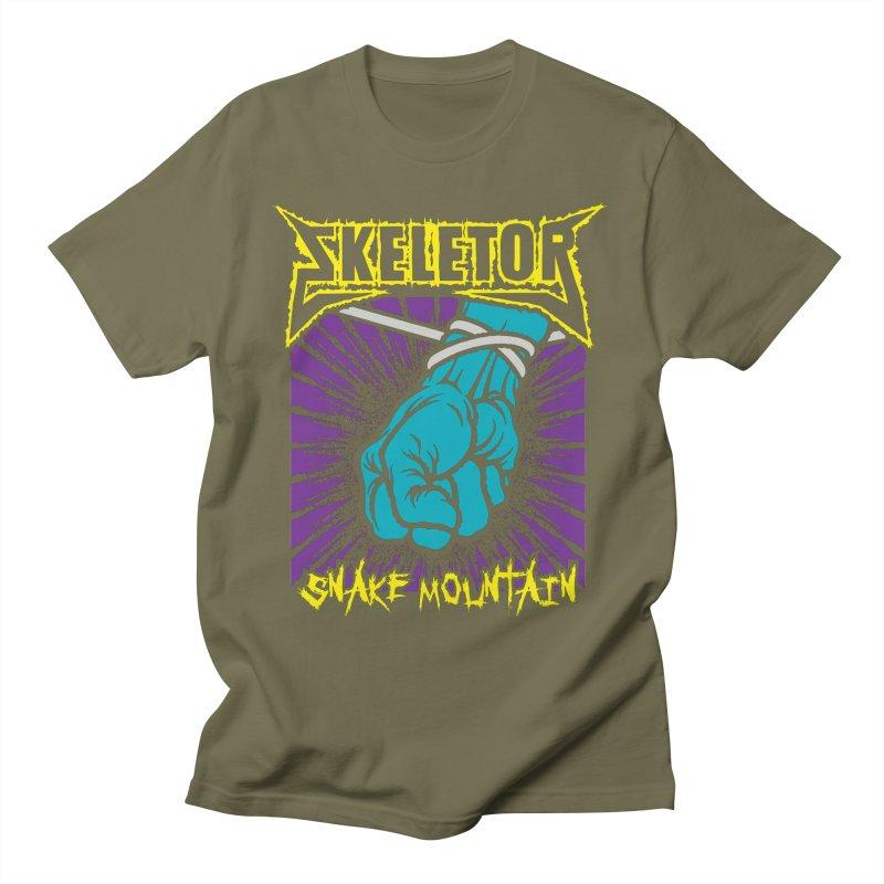 Snake Mountain Men's T-Shirt by Daletheskater