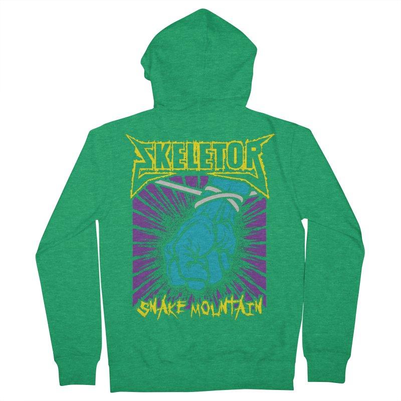 Snake Mountain Men's Zip-Up Hoody by Daletheskater