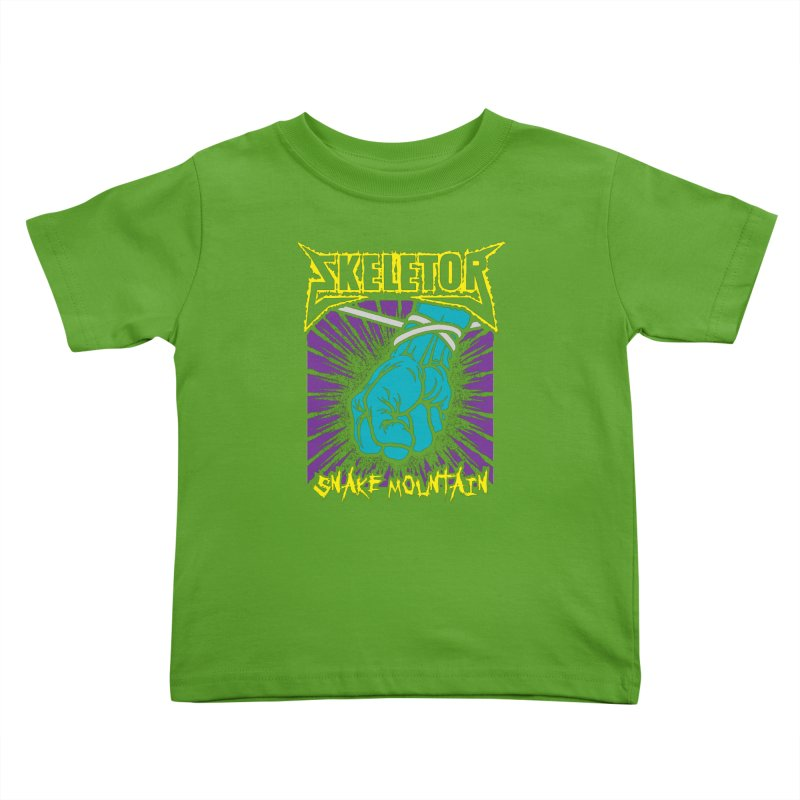 Snake Mountain Kids Toddler T-Shirt by Daletheskater