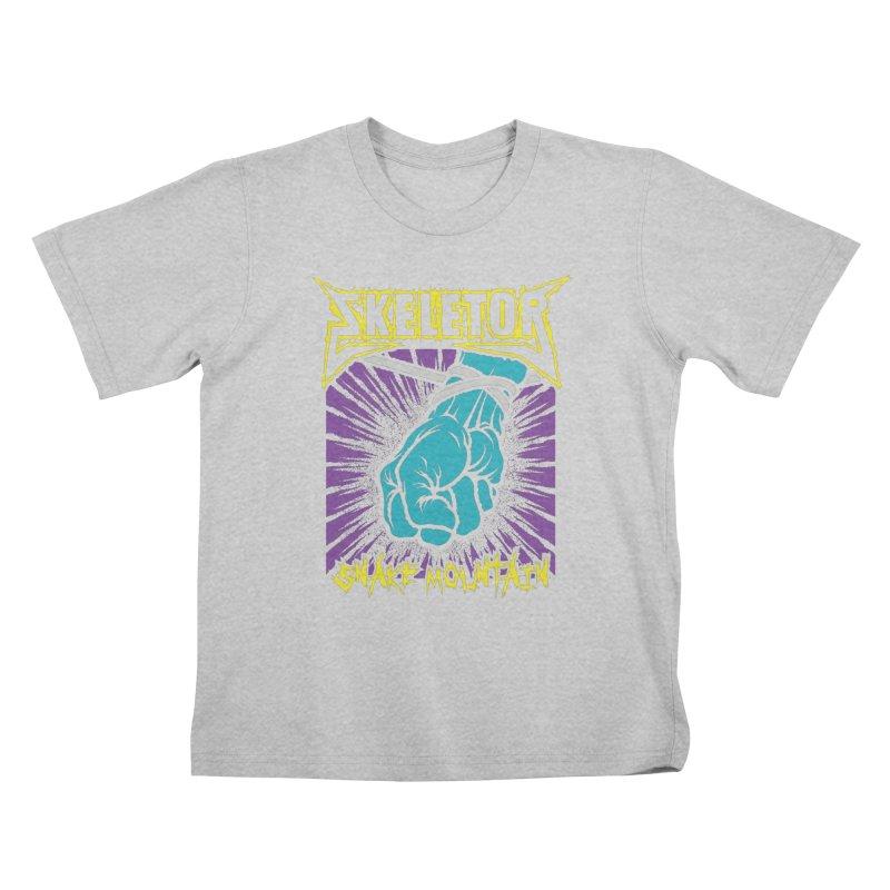 Snake Mountain Kids T-Shirt by Daletheskater