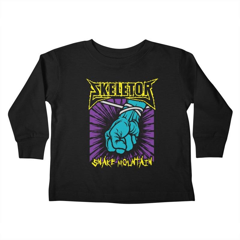 Snake Mountain Kids Toddler Longsleeve T-Shirt by Daletheskater