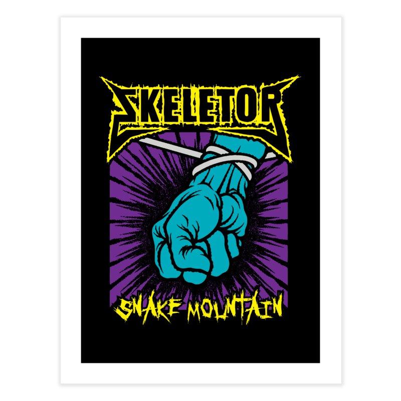 Snake Mountain Home Fine Art Print by Daletheskater